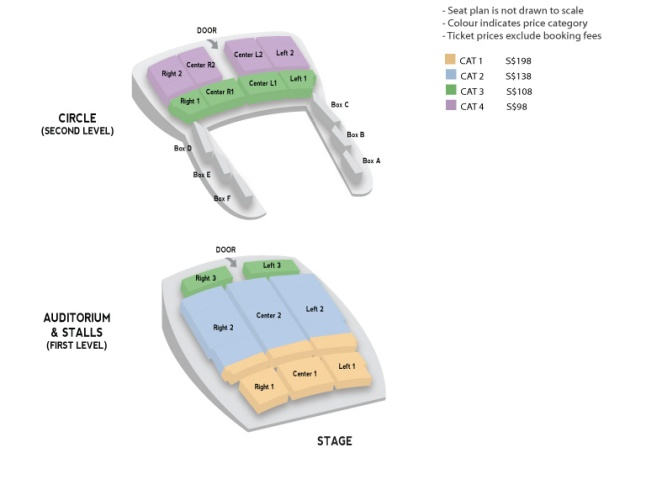 Gary Showcase Seat Map