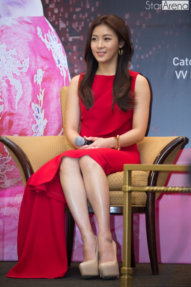 Ha Ji Won at Media Conference (2)