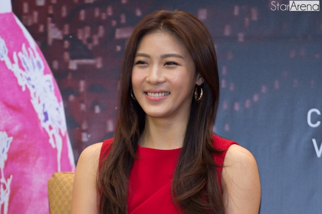 Ha Ji Won at Media Conference (1)