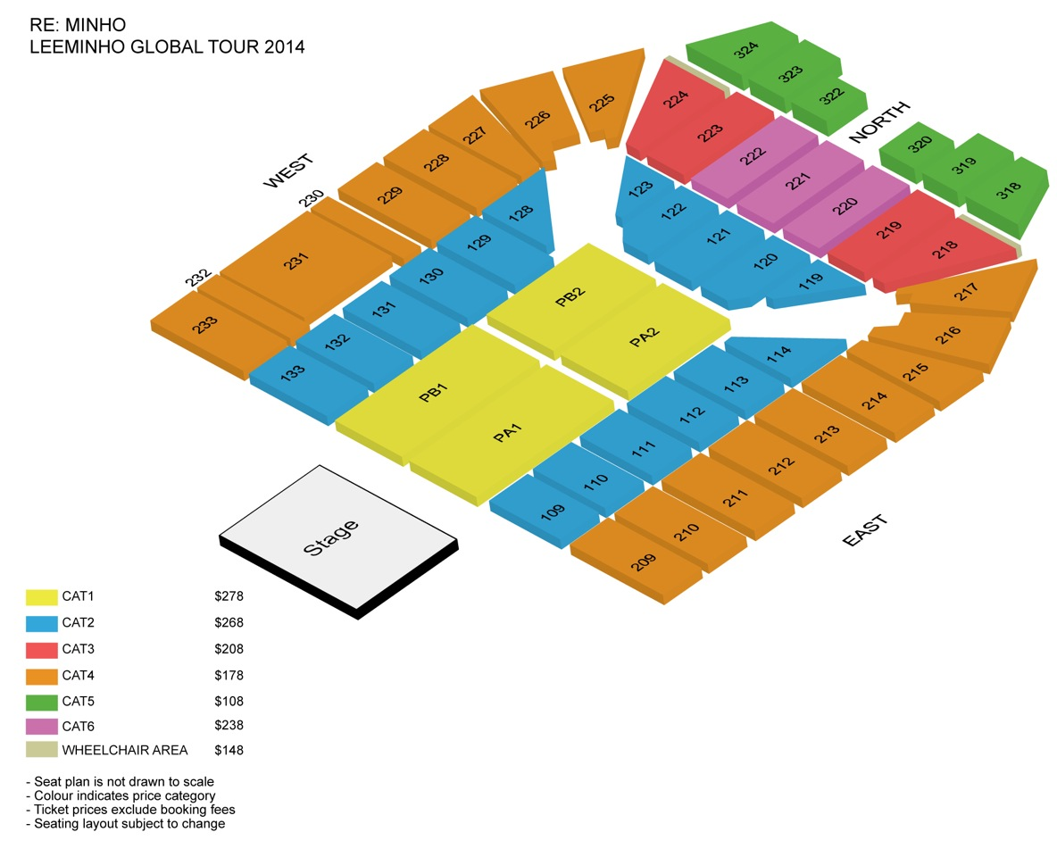 LEEMINHO - Seating Map V4 - 3D