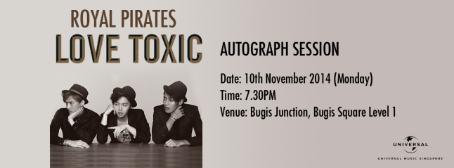 "Royal Pirates 2014 ""Love Toxic"" Autograph Session"