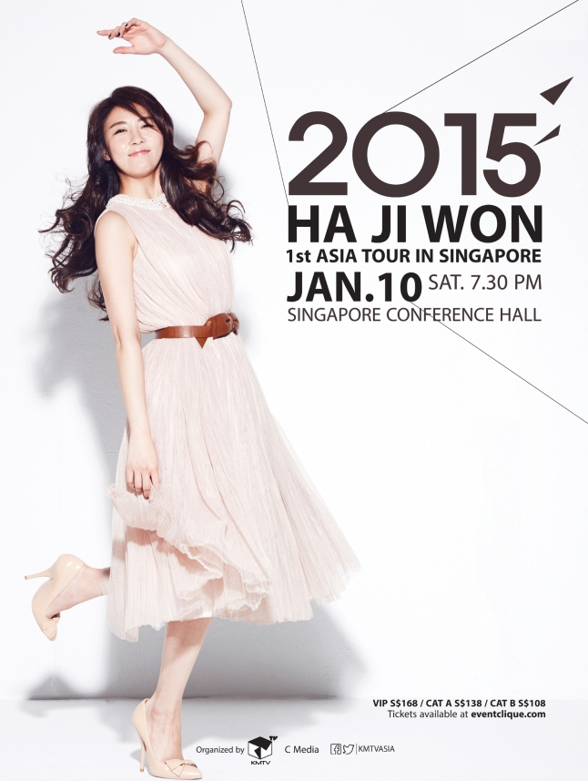 Ha Ji Won 1st Asia Tour in Singapore