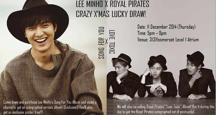 Lee Minho X Royal Pirates Crazy X'Mas Lucky Draw