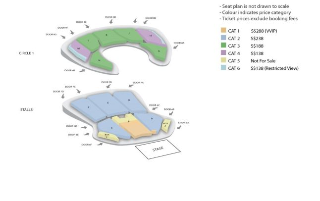 OneFineDay Seatplan