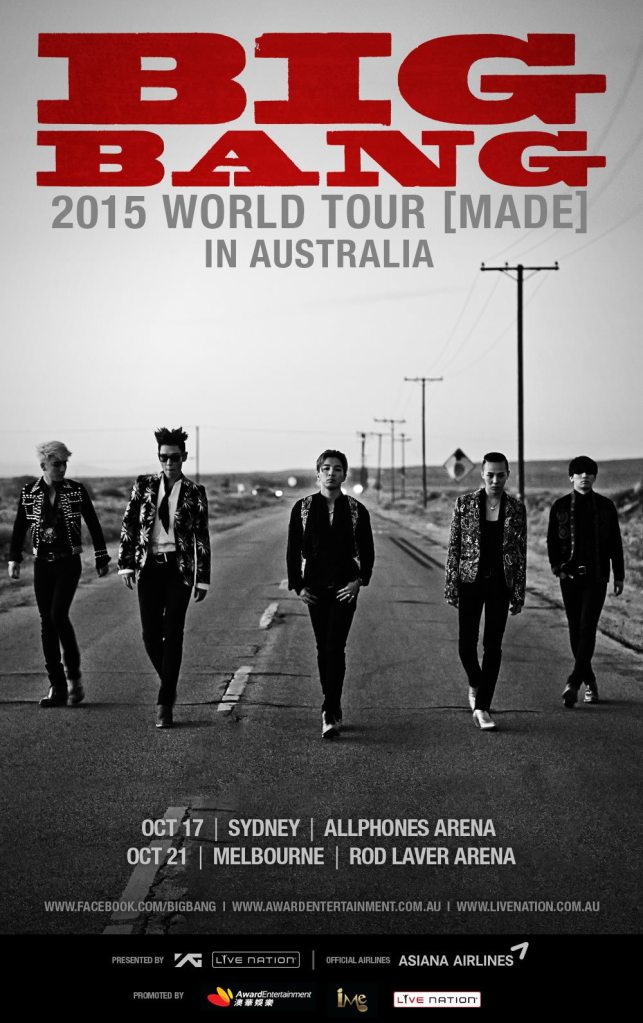 BIGBANG MADE in Aus