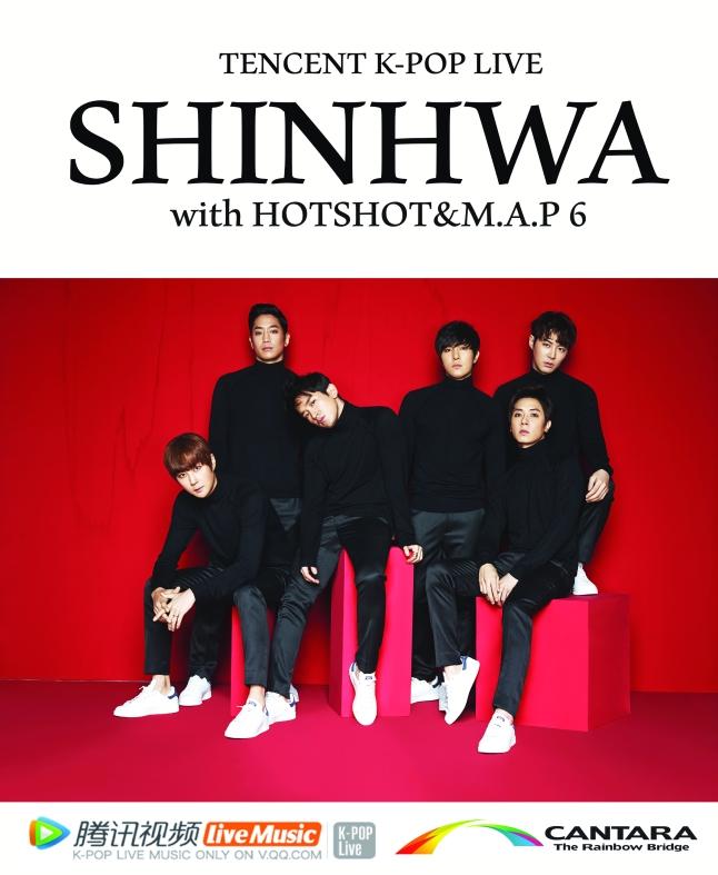 Shinhwa Tencent Kpop Live
