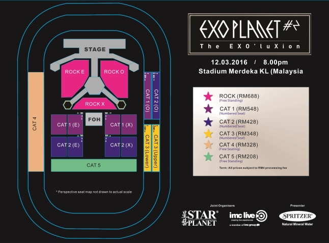 EXO SEAT PLAN