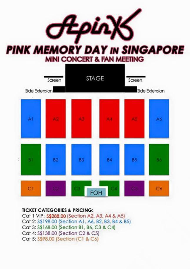 Apink Pink Memory in Singapore 2016