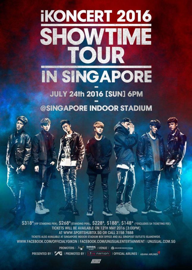 ikon concert poster