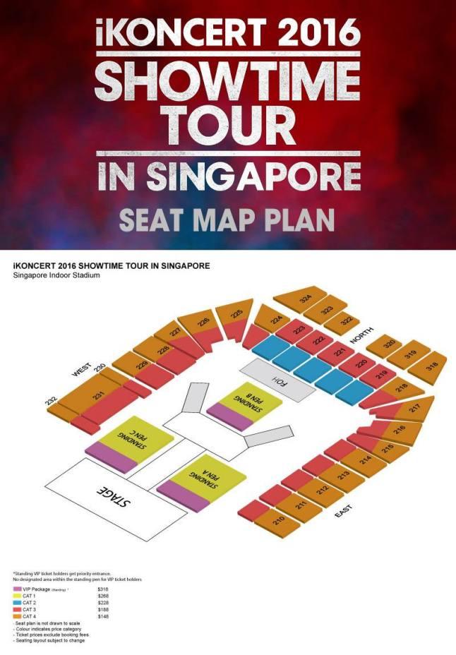 ikon seat plan