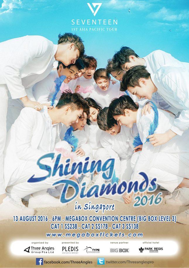 Seventeen Poster SG