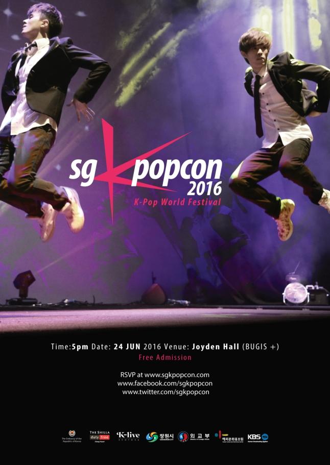 SGKpopcon 2016 Poster