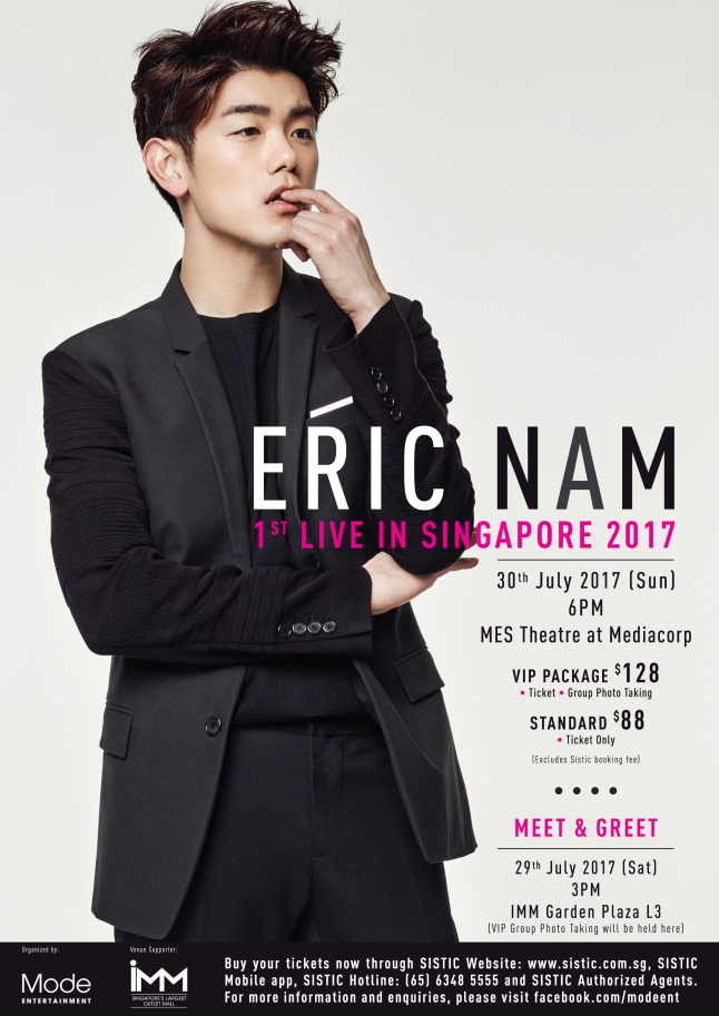 Eric Nam Final Poster