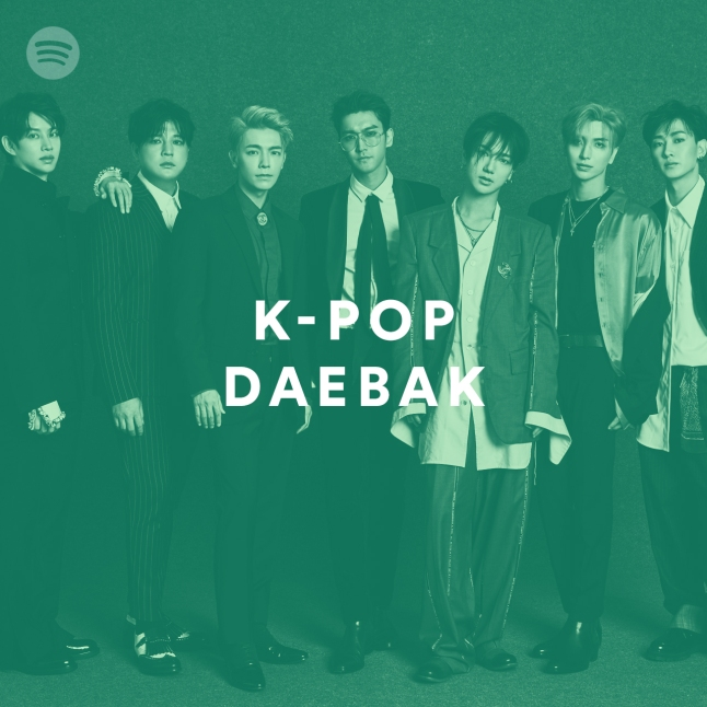 K-Pop Daebak Playlist Cover